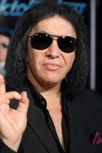 Gene Simmons and Wolfgang Puck Host Rocktoberfest Opening Night at L.A. Live in Los Angeles on October 15, 2012