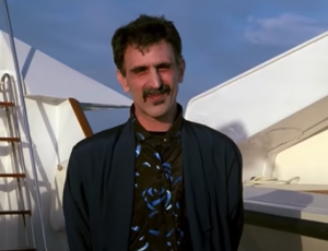 Frank Zappa en Miami Vice… You GATO Be Kitting Me